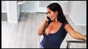 Slutty German Frau Nikita Von James with big boobs and call-boy
