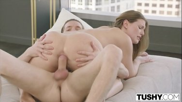 Strict landlord punishes his naughty tenant Kenzie Reeves