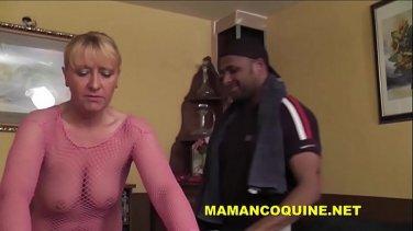 pervert cougar taken by her naughty voyeuristic man